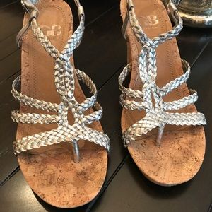 Gianni Bini wedge sandals